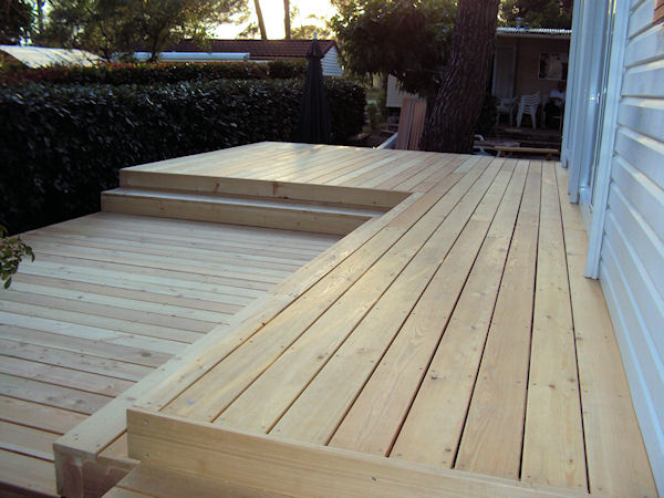 Mediena terasoms, Maumedžio terasinės lentos, Wood for terraces